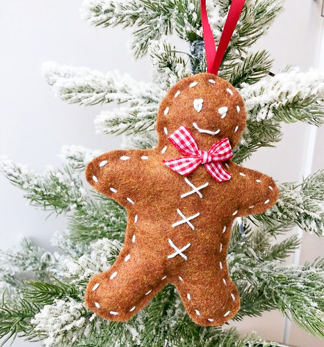 Gingerbreadman Christmas Decoration