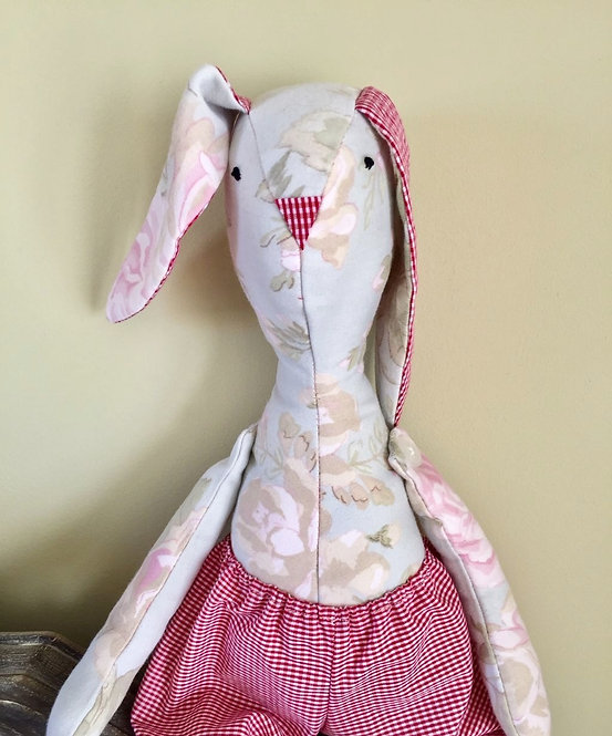 Fabric Bunny Soft Toy
