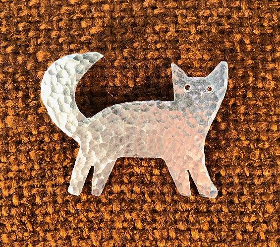 Aluminium Cat/catandkitten Brooch