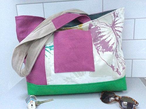 'The Beachy Tote' Handmade Bag in Purple