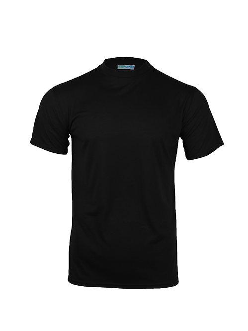 Plain Unisex T-Shirt in Black