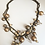 Thumbnail: Brass and Bead Necklace