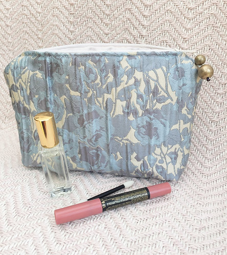 Blue Make up Bag