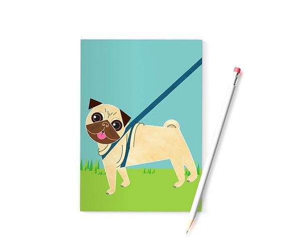Pug A6 Notebook