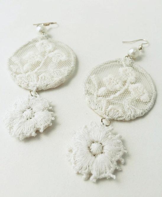 Lace Dangle Earrings