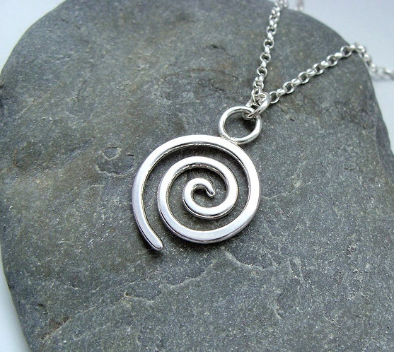 Spindrift Pendant Necklace
