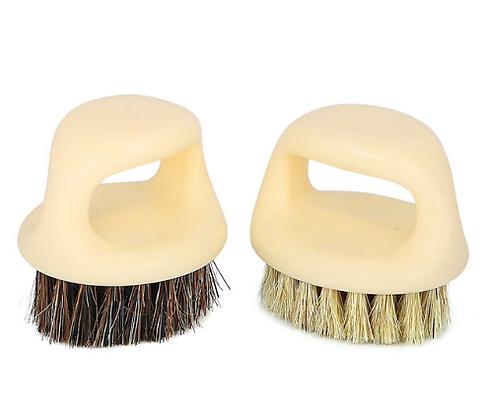 Brosse nettoyage cuir + Brosse nettoyage tissus