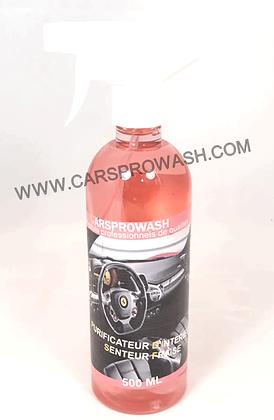 Purificateur d'intérieur senteur fraise 500 ML