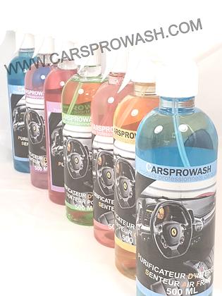 Kit purificateur d'intérieur les 7 senteurs Carsprowash