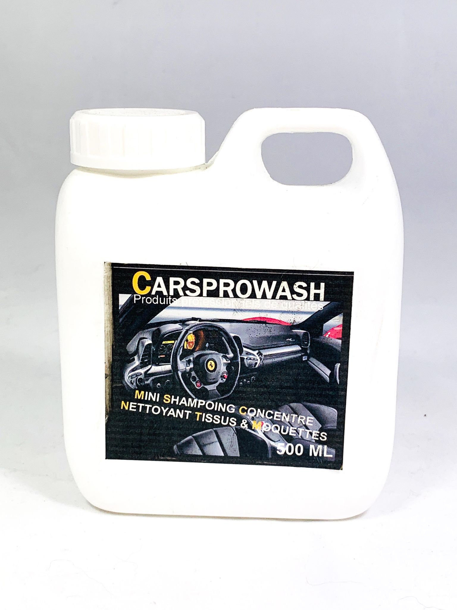 Tissus St Medard En Jalles mini shampoing concentre nettoyant tissus & moquettes 500 ml | carsprowash