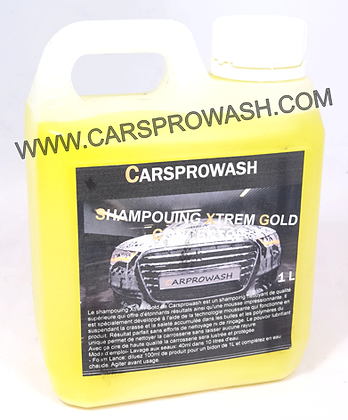 Shampouing Xtrem Gold Carrosserie ultra moussant 1 L