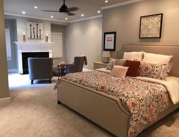 Foxcroft Master Bedroom + Sitting Area