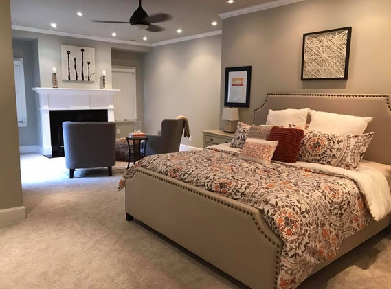 Master Bedroom + Reading Nook