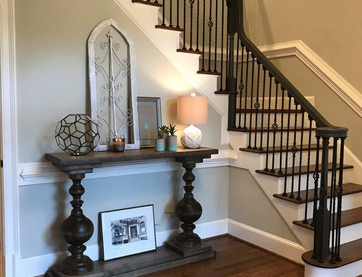 Foxcroft Front Entry + Stairway