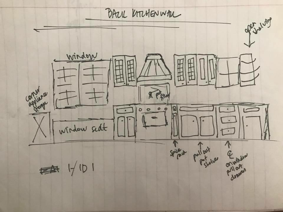 Carmel Kitchen Design Plan