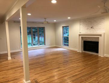 South Charlotte Living Room