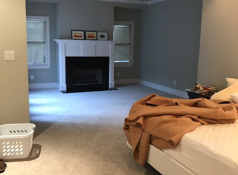 Master Bedroom and Sitting Area