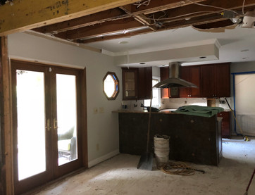 Kitchen and Living Room Renovation