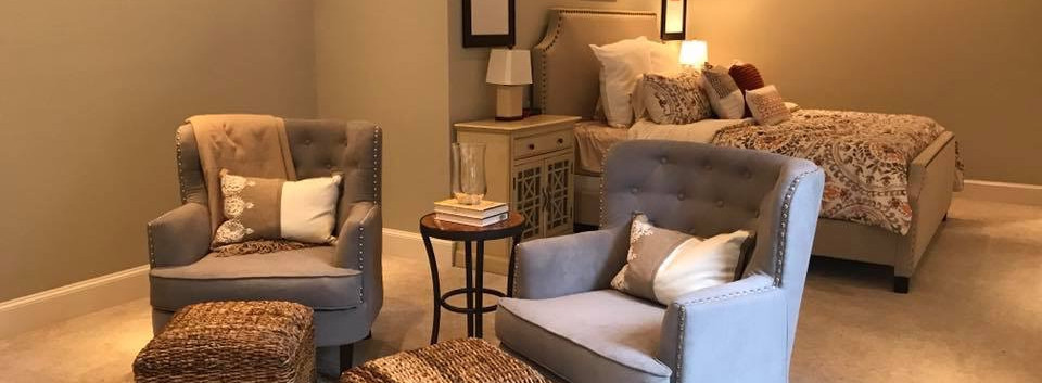 Foxcroft Master Bedroom + Reading Nook