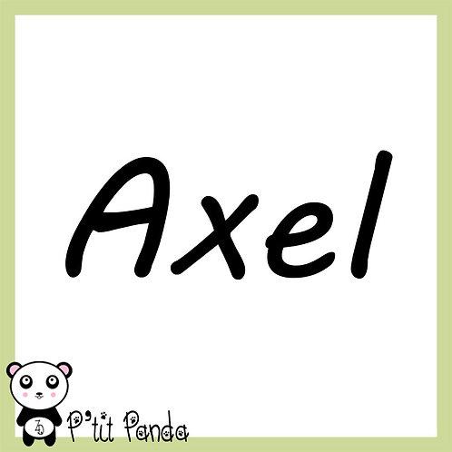 Prénom en Flex n°11