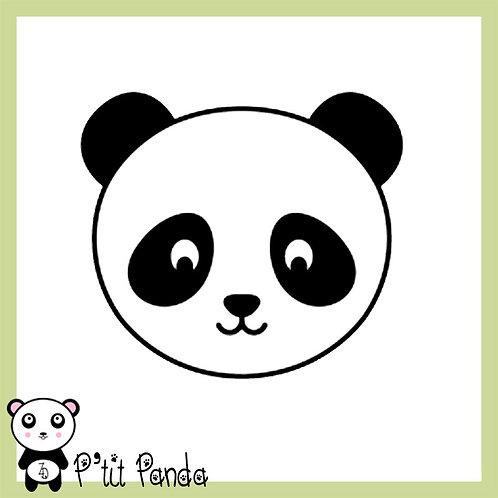 Tête de Panda en Flex