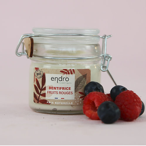 Dentifrice Fruits rouges BIO - Endro