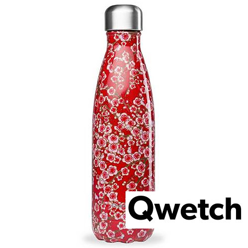 Gourde Qwetch flowers rouge