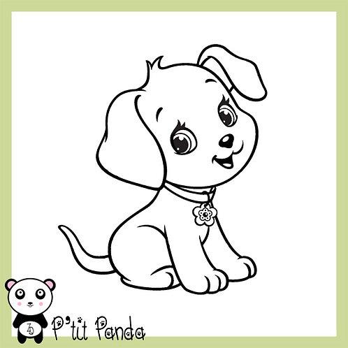Petit chien en Flex