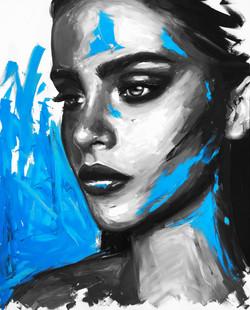 """""""MIAMI BLUE"""" (SOLD)"""