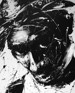 _Legend_ Acrylic painting (162x130 cm)__#tupac #tupacshakur #2pac #hiphop #oldschool #rap #black #wh