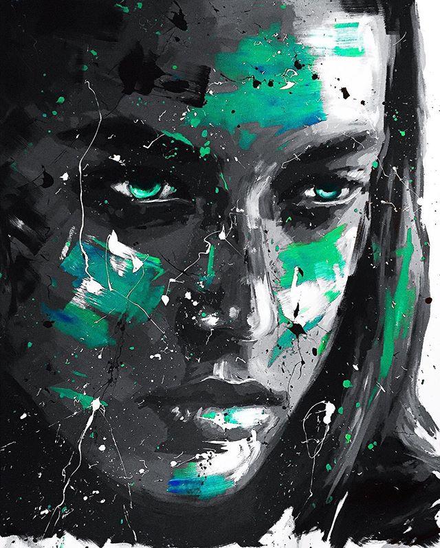 _Crystal_ 162x130 cm acrylic painting