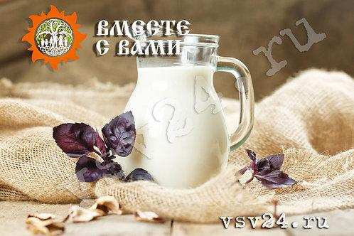 Молоко цельное коровье отборное