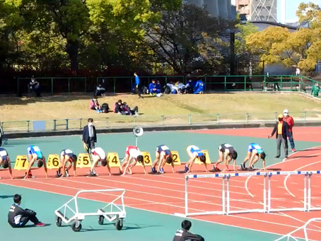 東京オリンピック選考会 参加標準記録突破!