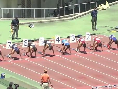 100m日本記録!!!