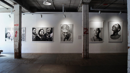 Voices X, Voices in the Warehouse, Dubuque, IA, 2015