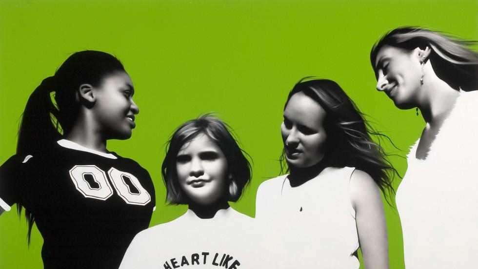 Aisha, Alex, Sarah and Dena
