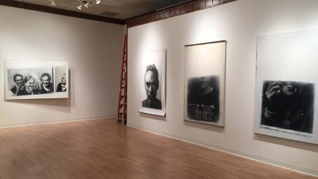 Catich Gallery, St. Ambrose University, 2017