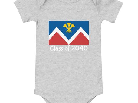 P&D Little Tyke Class of 2040 - Gray
