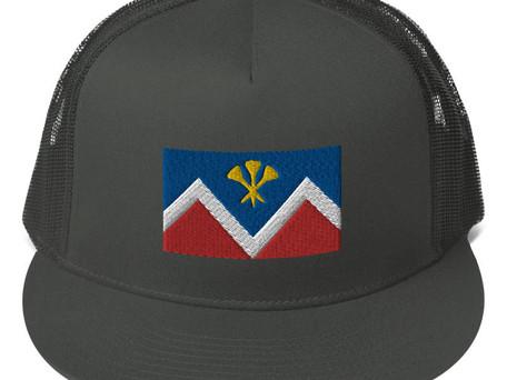 P&D Logo Mesh Sport Cap - Black