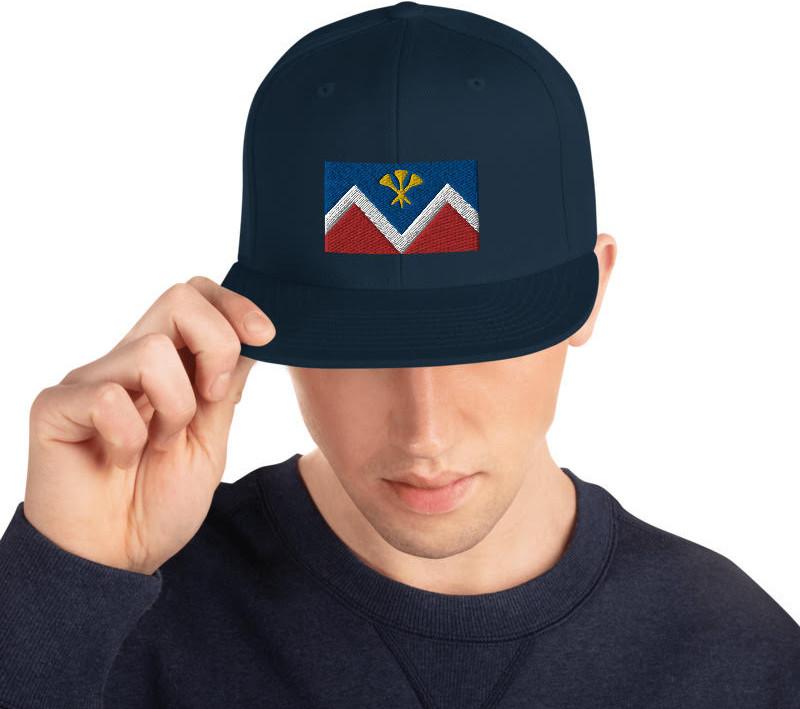 P&D Logo Snapback - Navy