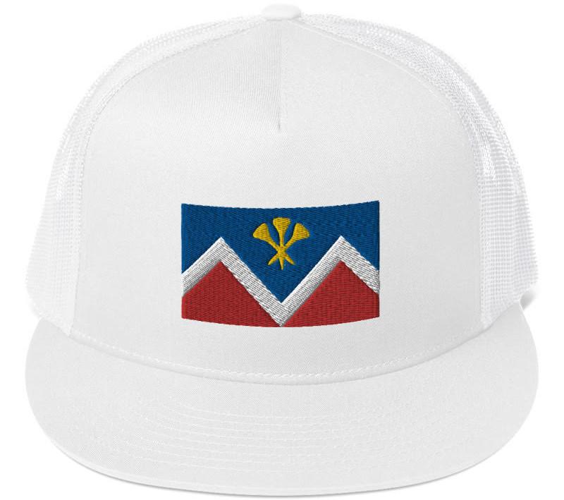 P&D Logo Mesh Sport Cap - White