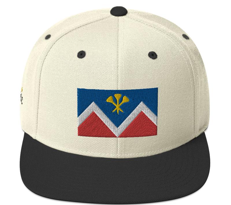 P&D Logo Snapback - Off White