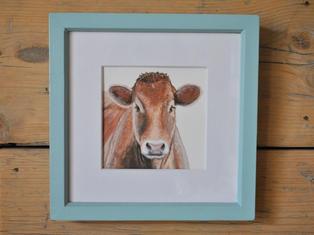 Limousin, Original Gouache Painting £45