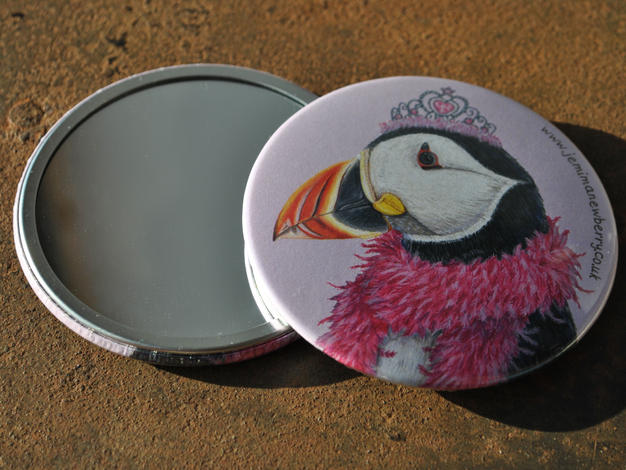 Princess Puffin Pocket Mirror £4.50