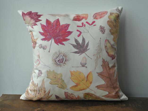 Autumn Leaves Cushion £28
