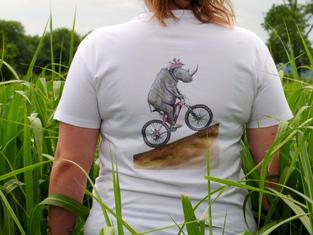 Unisex T-shirt, Rhino Mountain Biking £25