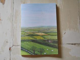 Countryside Landscape Notebook £4.50