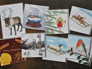 Christmas Cards Bundle (Pack of 10)  £20