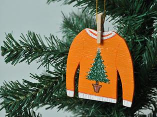 Tree Jumper Christmas Tree Decoration £7