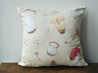 Wild Mushroom Cushion £28